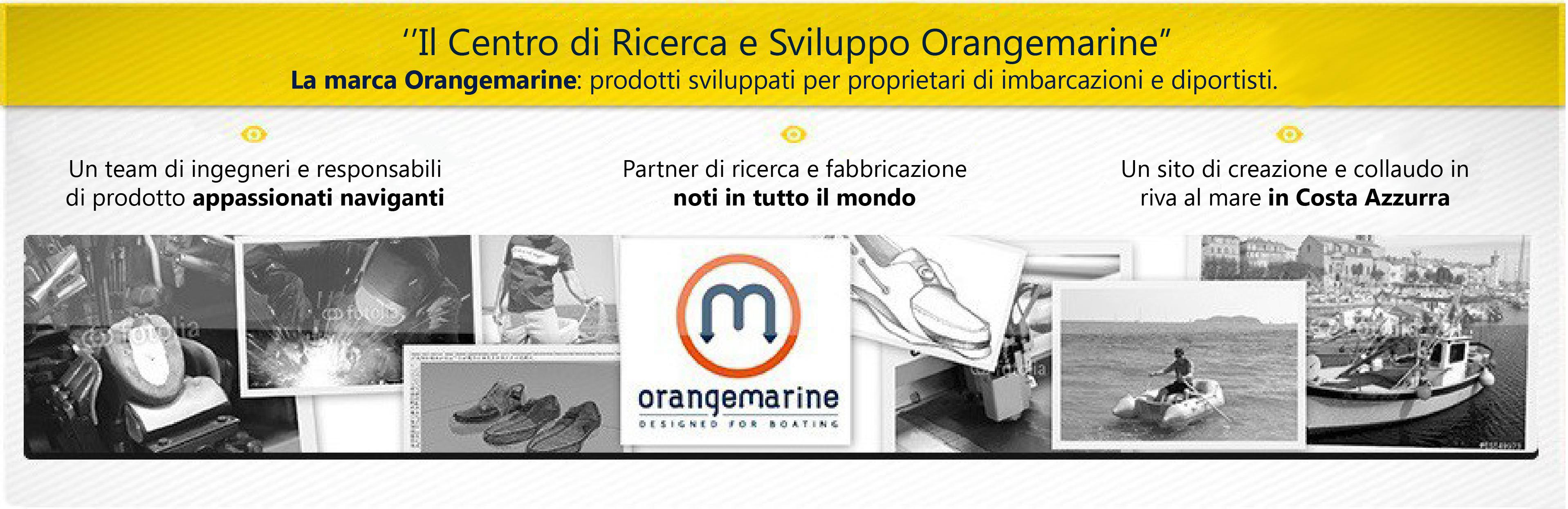 La marca Orangemarine: prodotti sviluppati per proprietari di imbarcazioni e diportisti